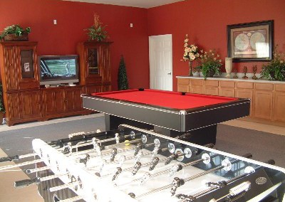 Games room at Clubhouse